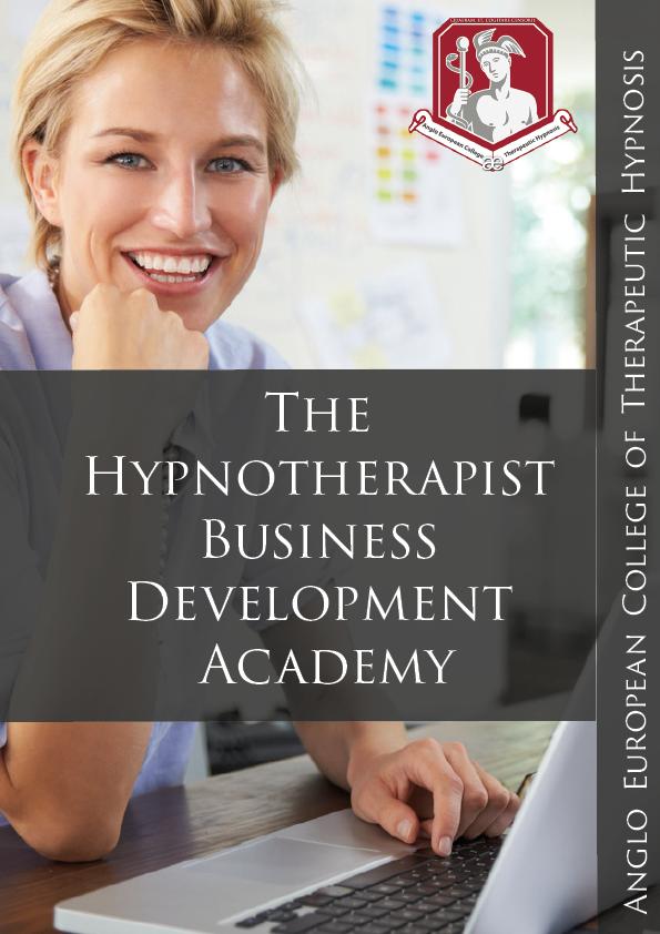 The Hypnotherapist Business Development Academy