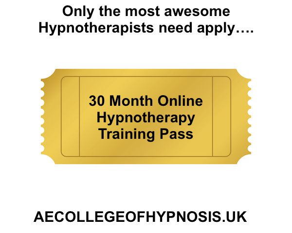 30 Month Season Pass for Online Hypnotherapy Training – Advanced CPD For Qualified Hypnotherapists