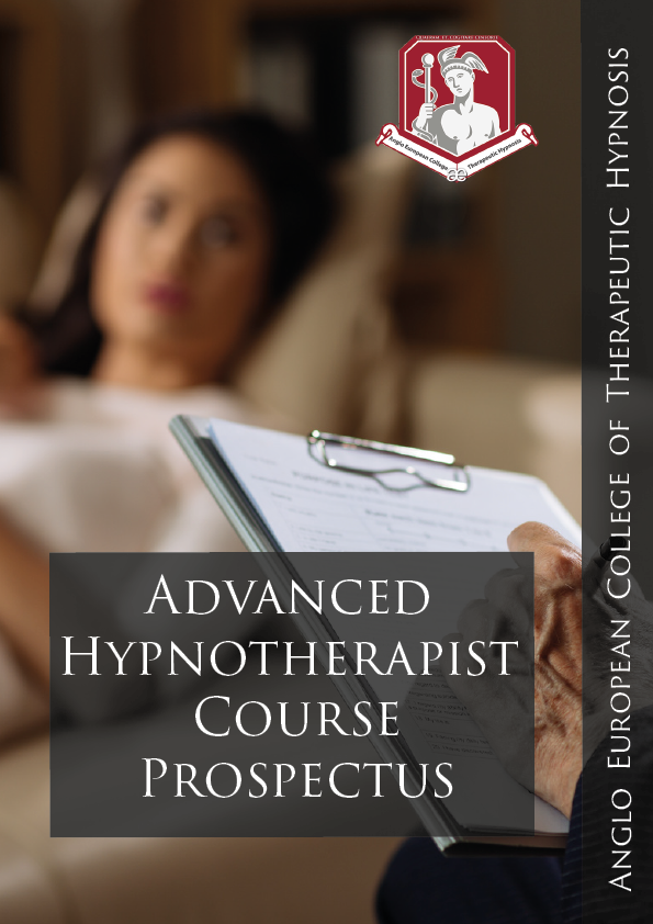 Advanced Hypnotherapist Course