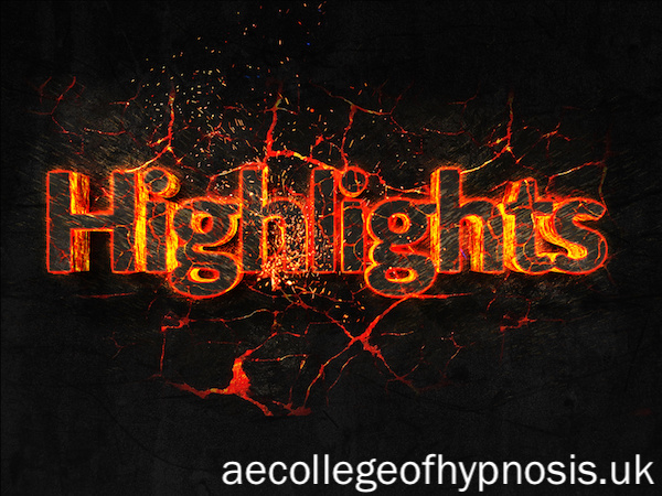 Our Hypnotherapy College Highlights of 2017 and Exciting Times for 2018