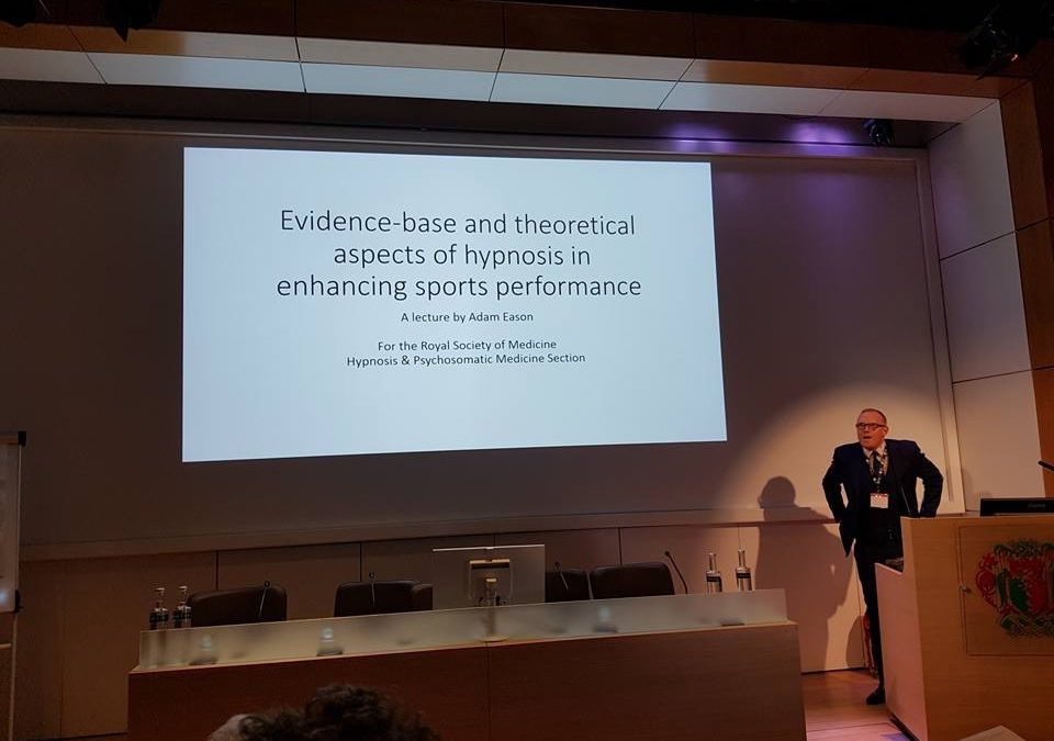 Report and Pictures: Hypnosis in Enhancing Sports Performance at the Royal Society of Medicine
