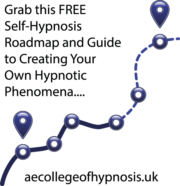 A FREE Self-Hypnosis Roadmap – Learn How To Create Your Own Hypnotic Phenomena