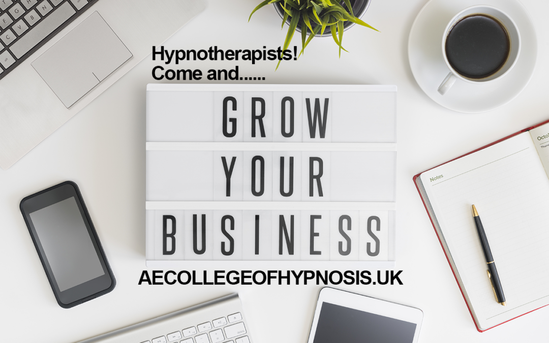 Major Offer For Hypnotherapists Looking To Develop Their Business