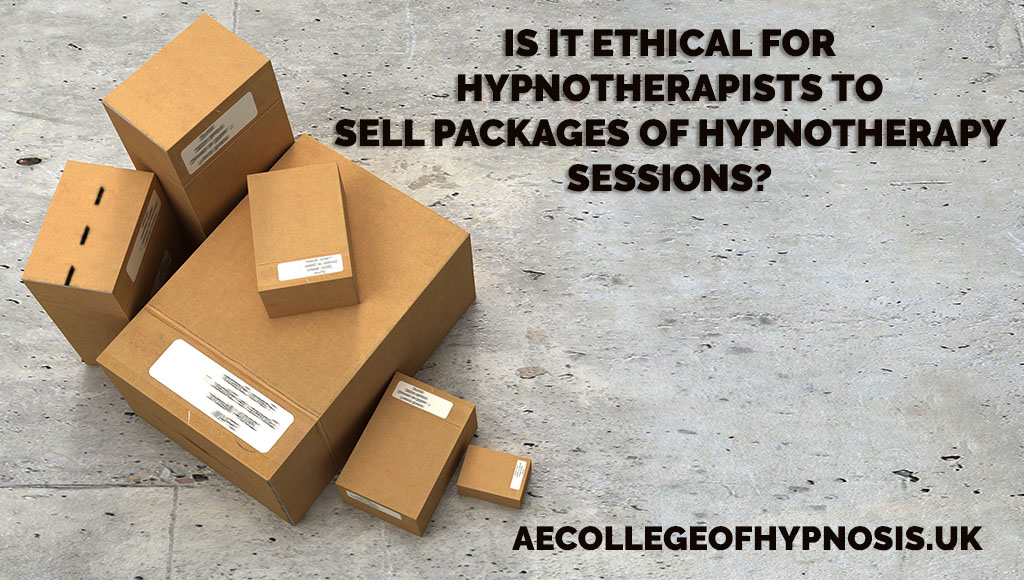 Video: Is It Ethical For Hypnotherapists To Sell Packages of Hypnotherapy Sessions?