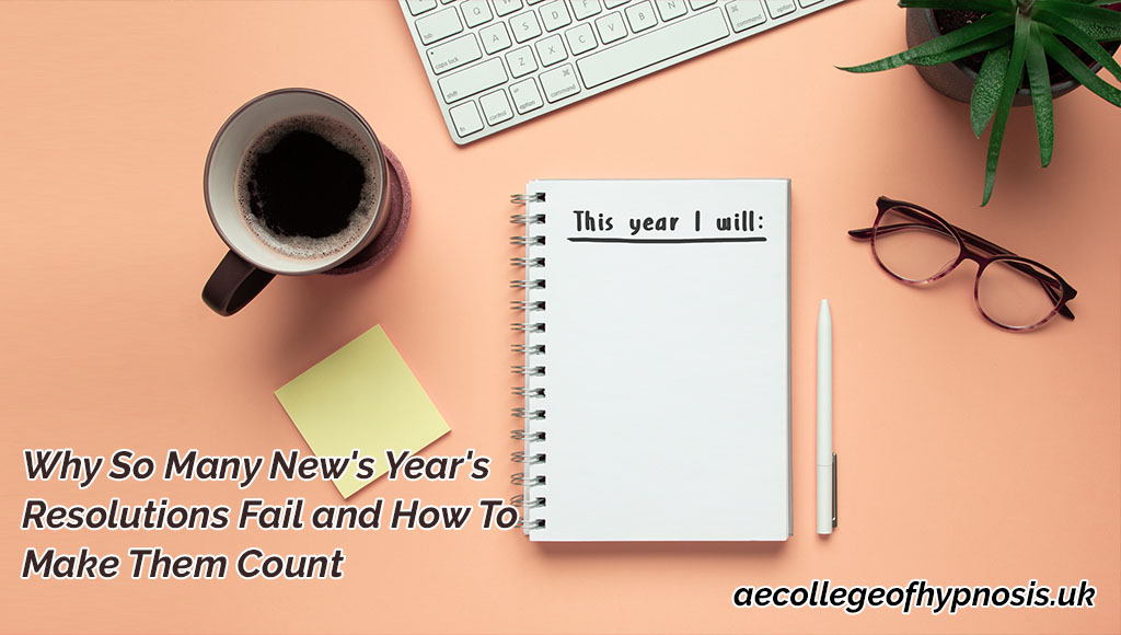 Video : Why So Many New's Year's Resolutions Fail and How To Make Them Count