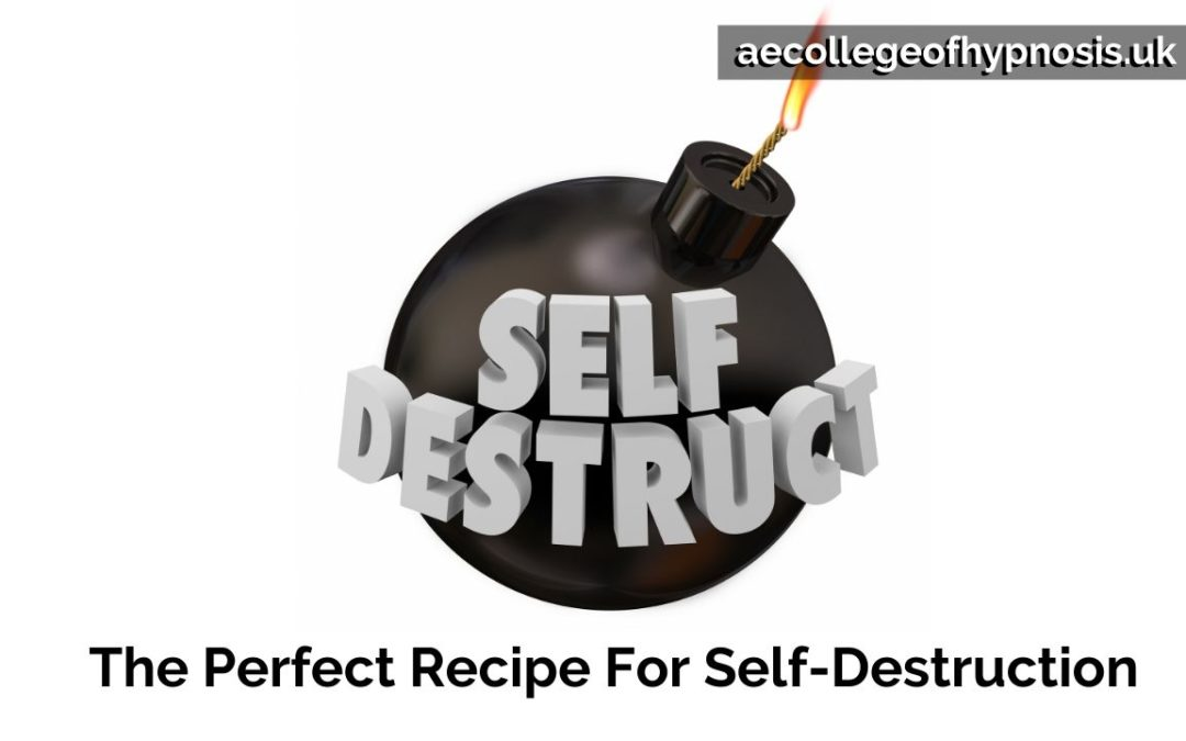 Video: The Perfect Recipe For Self-Destruction