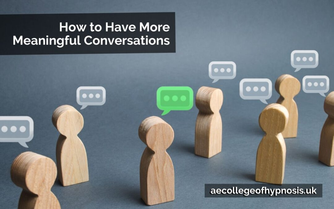 Video: How to Have More Meaningful Conversations