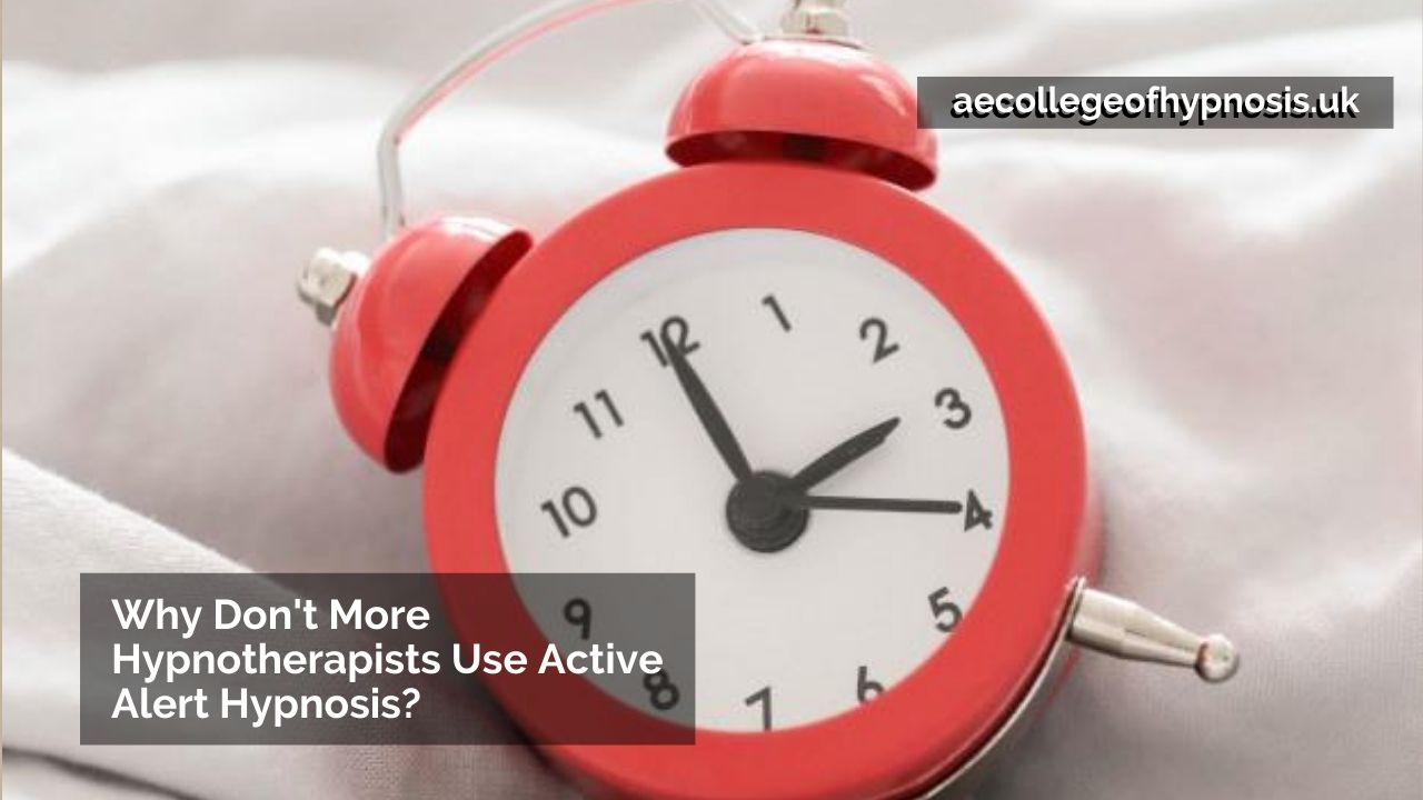 Video: Why Don't More Hypnotherapists Use Active Alert Hypnosis?